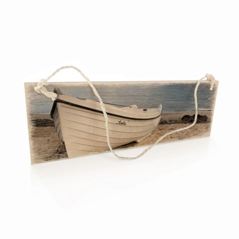 Holzschild Strandidyll