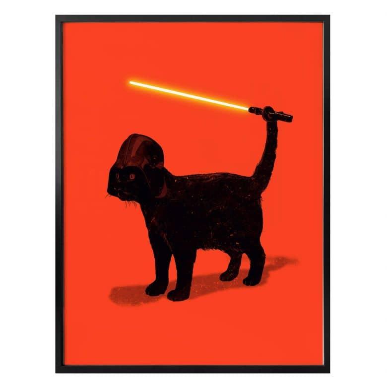 Poster Nicebleed - Cat Vader