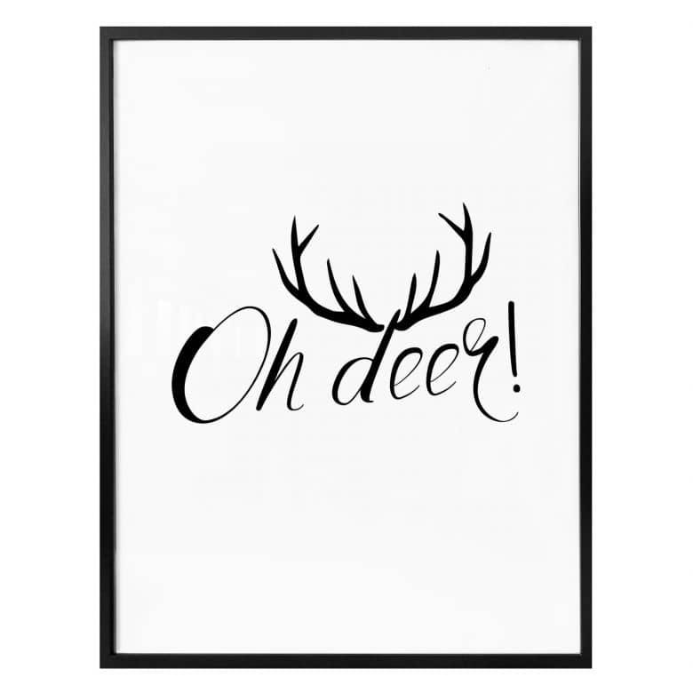 Poster Oh deer