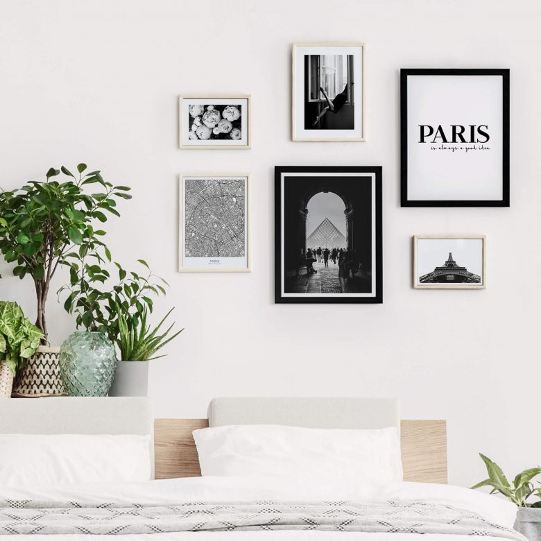 Poster-Set Paris is always a good idea