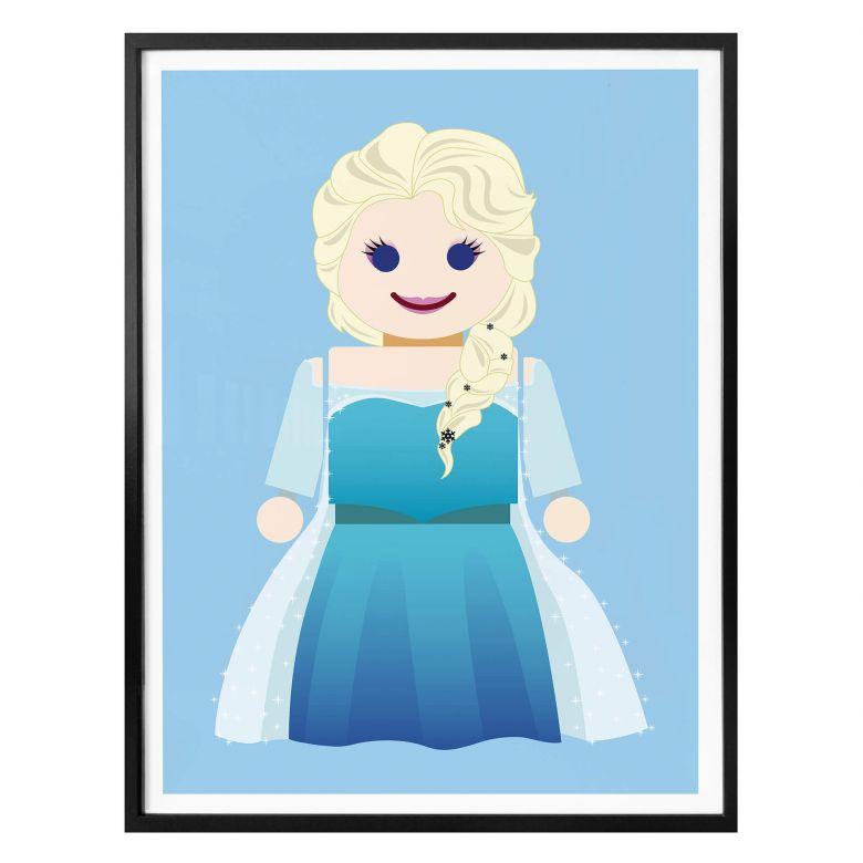 Poster Gomes - Elsa Frozen Spielzeug
