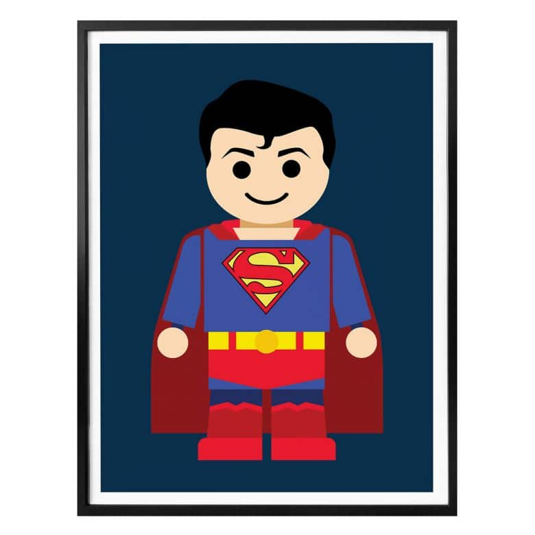 Poster Gomes - Superman Spielzeug
