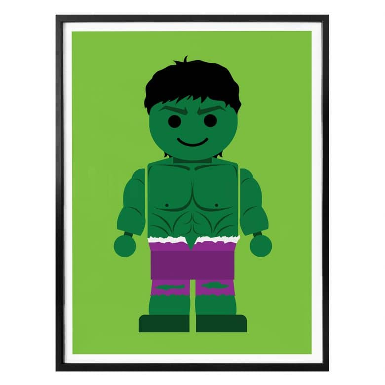 Poster Gomes - the Hulk