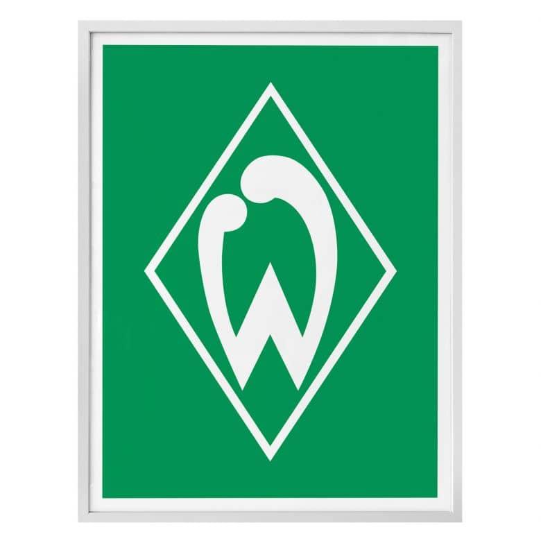 Poster Werder Bremen - Logo