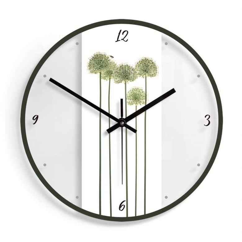 Orologio in vetro Kadam - BiancoØ30 cm
