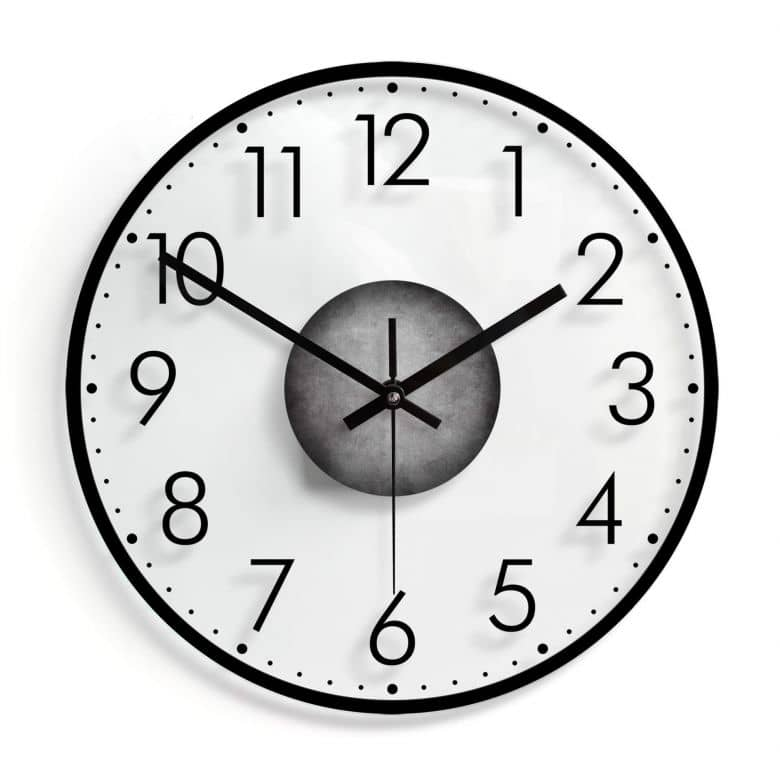 Orologio in vetro - Minimal 01