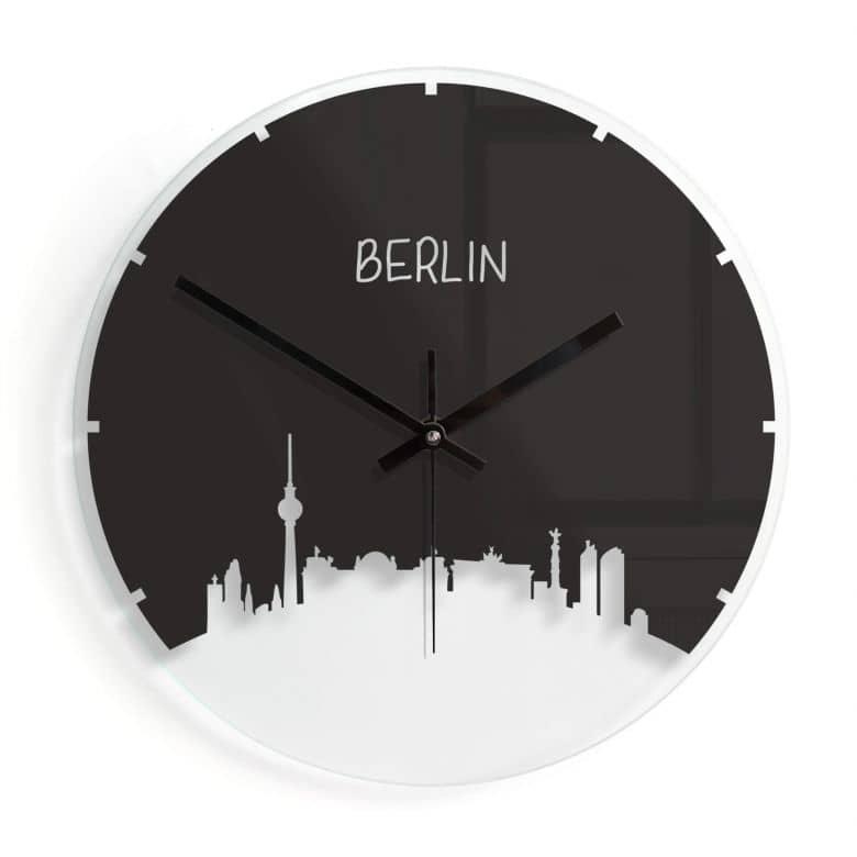 Orologio in vetro - Sykline Berlino