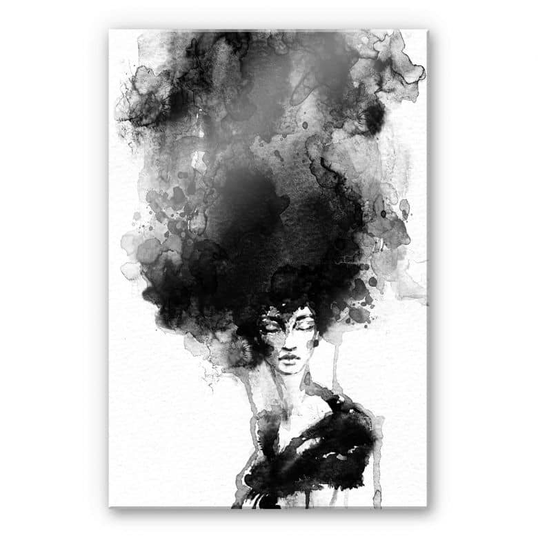 Acrylglasbild - On Fire