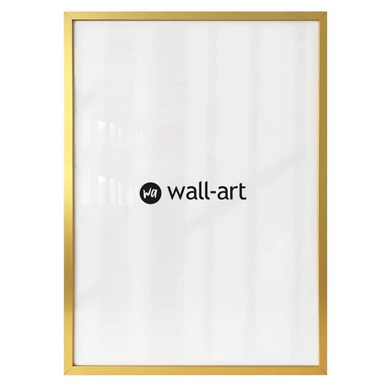 Fotolijst van hout – goud