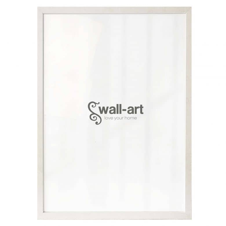 Poster Frame Woodland III - Maple white