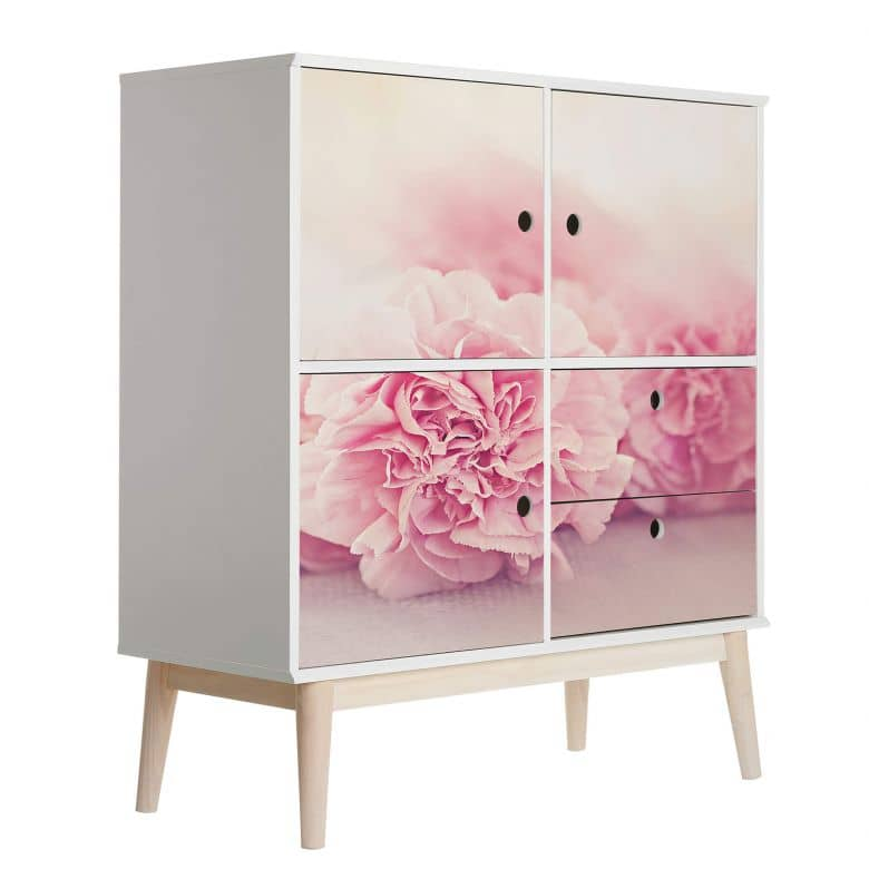 Furniture Wrap - Pink Carnation