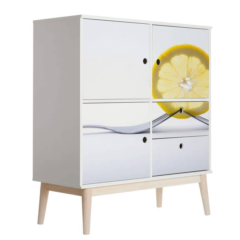 Furniture Wrap - Lemon