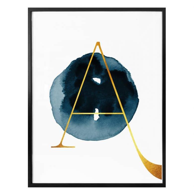 Poster - Das goldene A