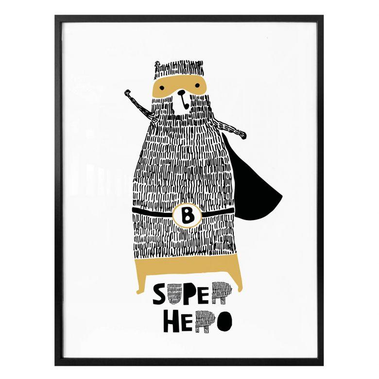 Poster - Bärenstarker Superheld