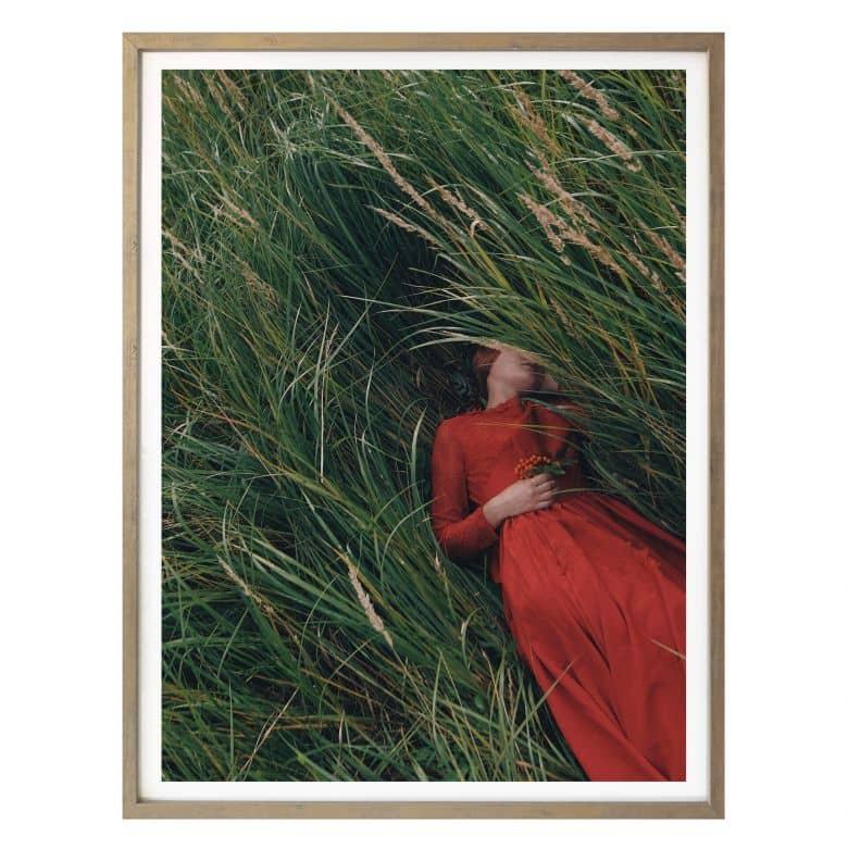 Poster Barantseva - In der Wiese