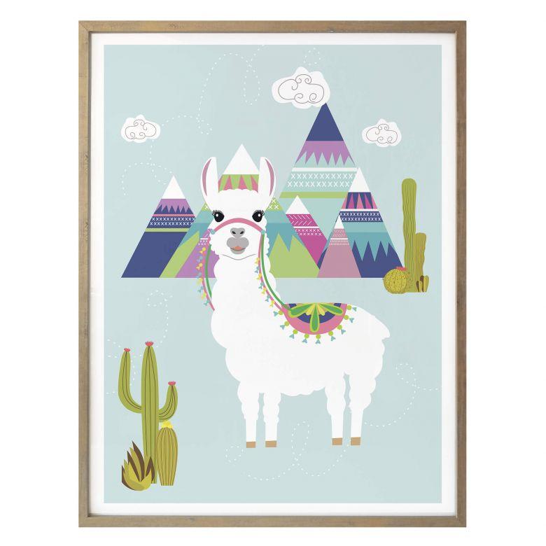 Poster Be a Llama