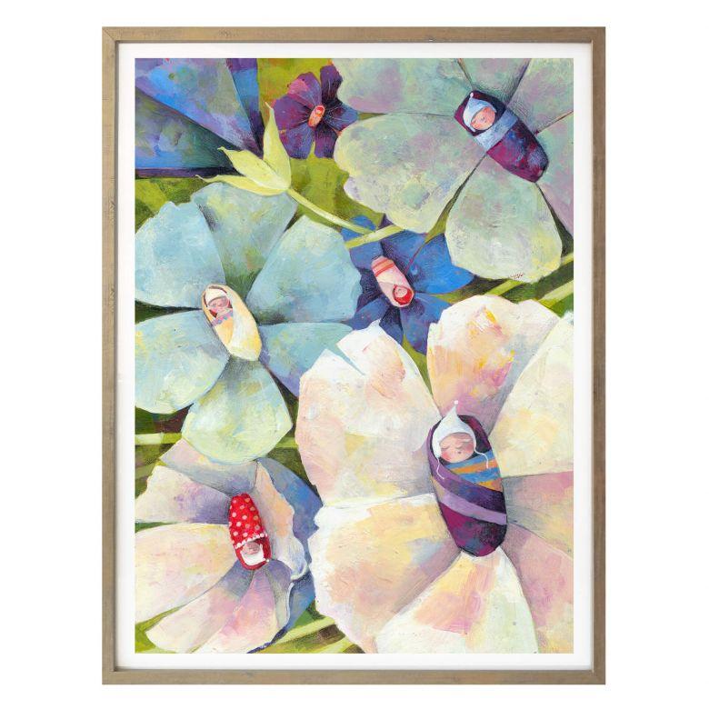 Poster Blanz - Blütenbabies