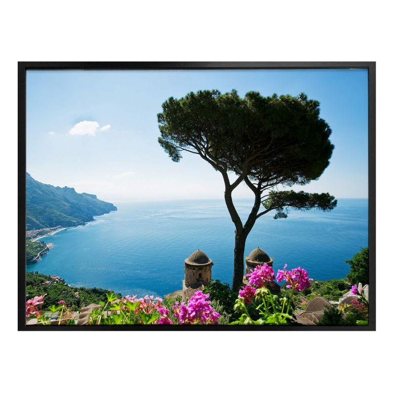 Poster - Vue sur la côte amalfitaine