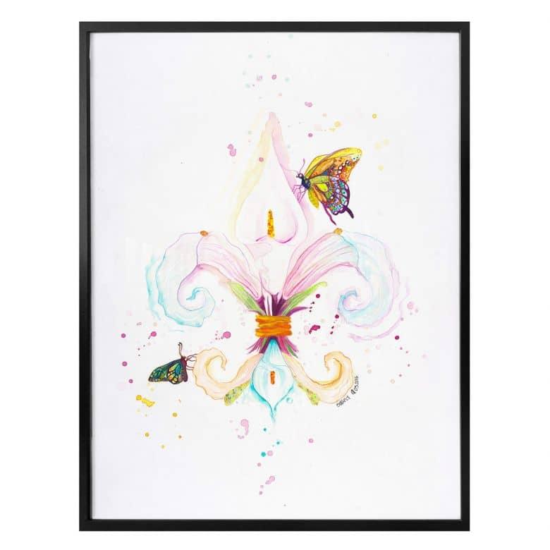 Poster Buttafly - Fleur de Lil