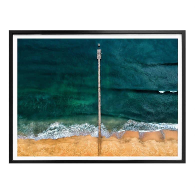 Poster Das Rauschen des Ozeans