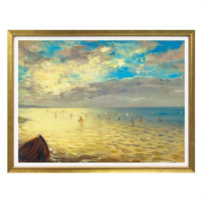 Poster Delacroix - Das Meer