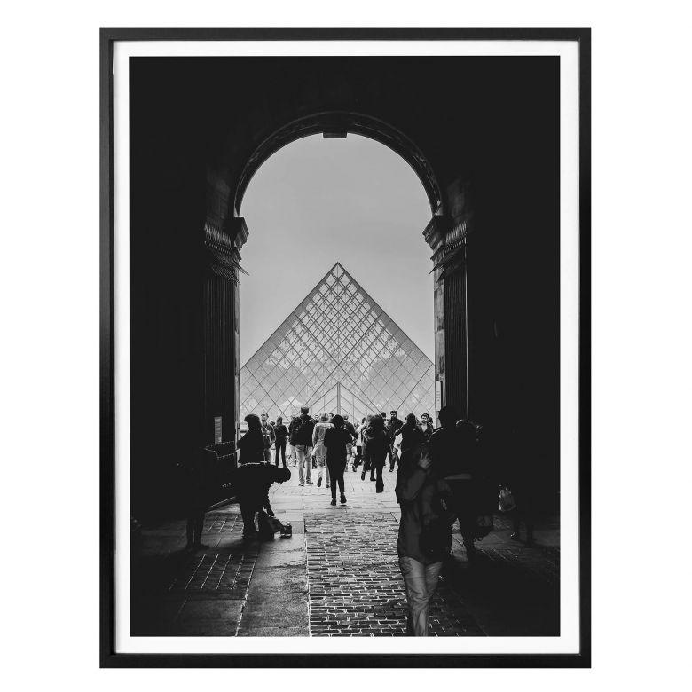 Poster Der Louvre 02