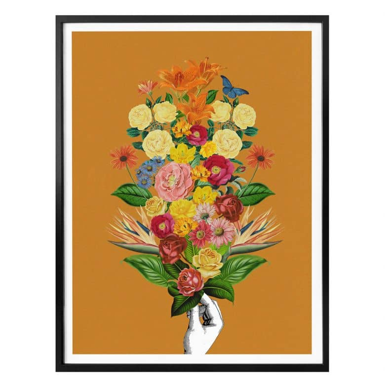 Poster Feldmann - Botanical Yellow