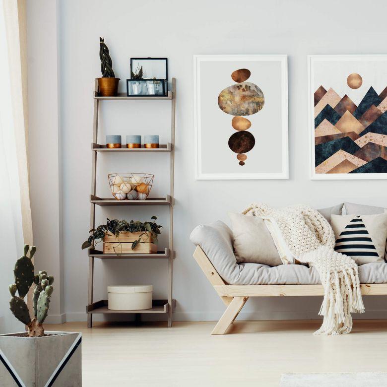 Poster Set con cornice Fredriksson - Armonia