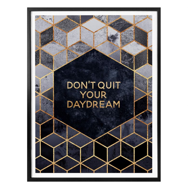 Poster Fredriksson - Don´t Quit your Daydream