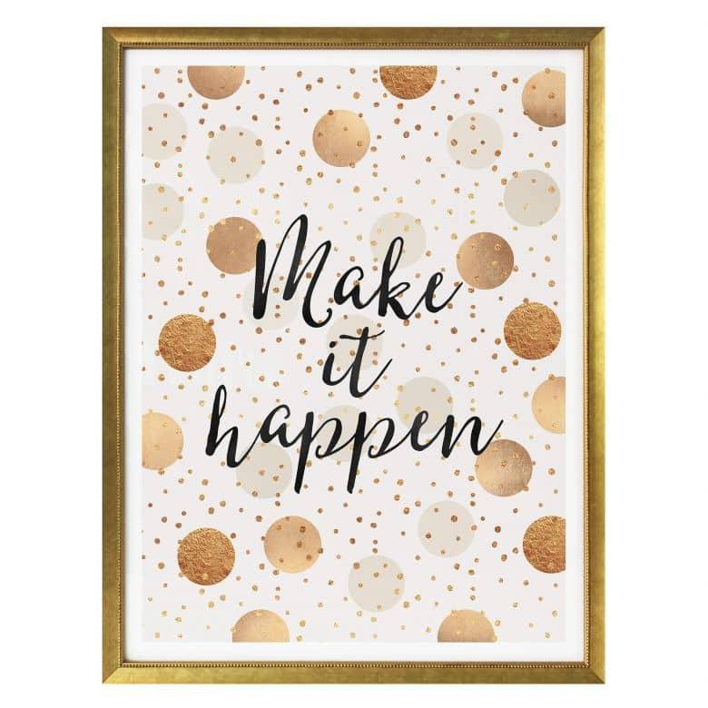 Poster Fredriksson - Make it Happen