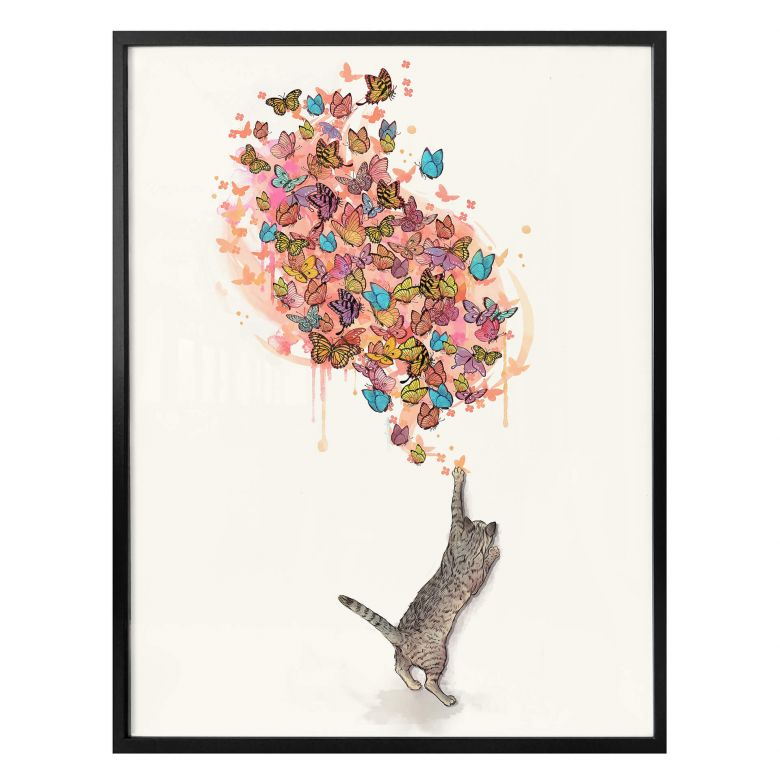 Poster Graves - Catching Butterflies