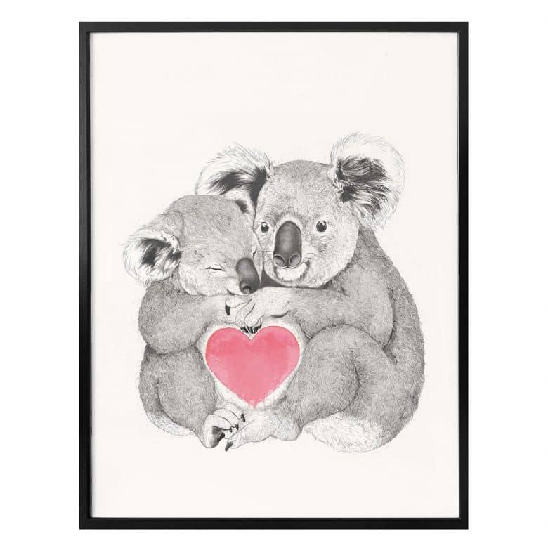 Poster Graves - Koala loves hugs