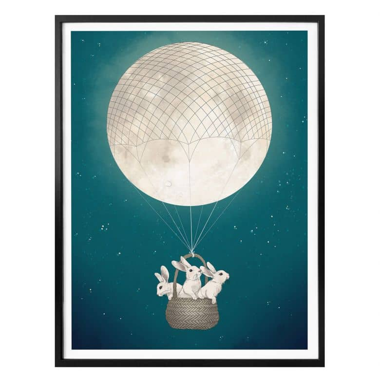 Poster Graves - Moonbunnies