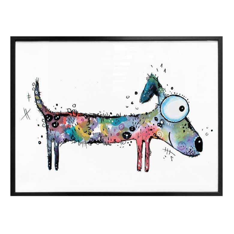 Poster Hagenmeyer – Happy Dog