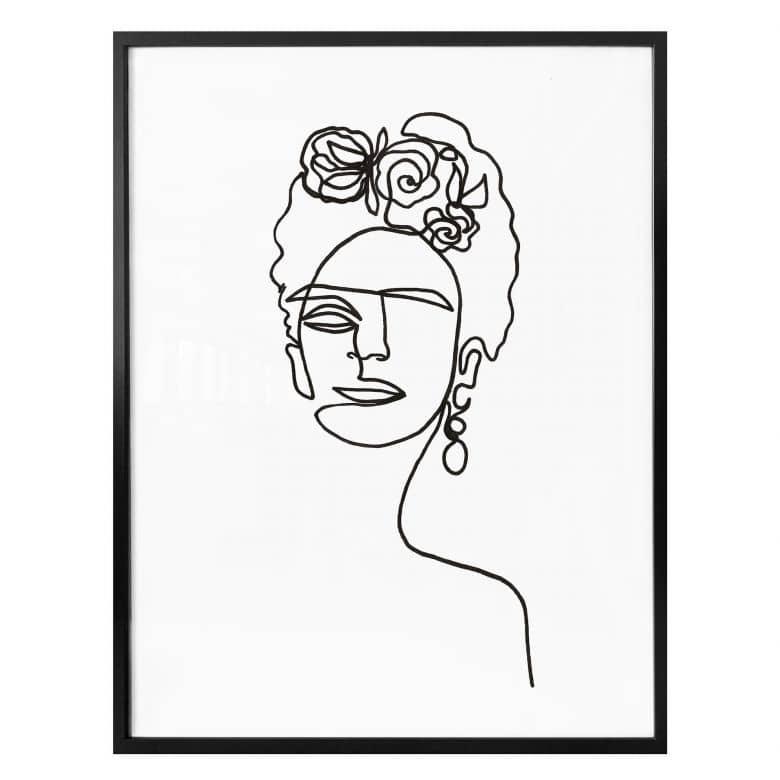 Poster Hariri - Frida Kahlo