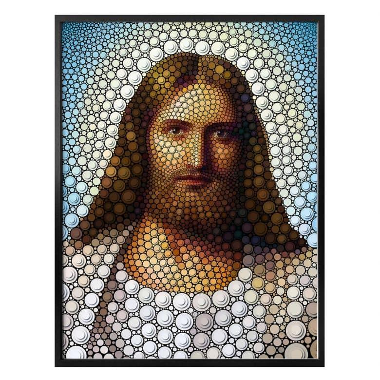 Poster Ben Heine - Circlism - Jesus Christ