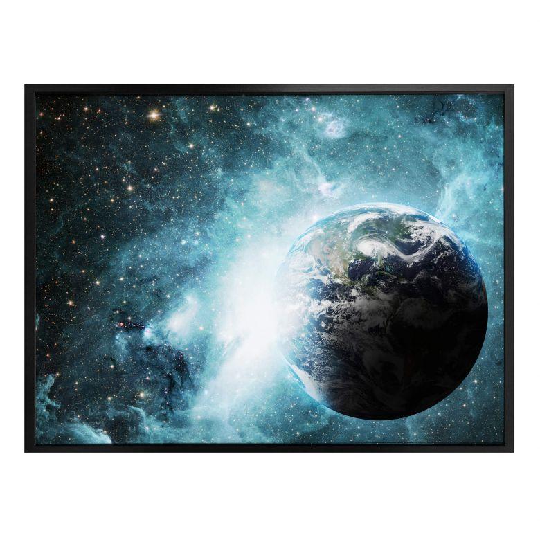 Poster In einer fernen Galaxie