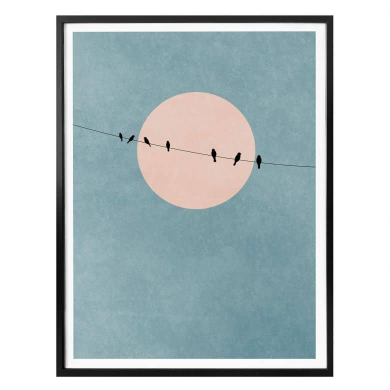 Poster Kubistika - The Beauty of Silence