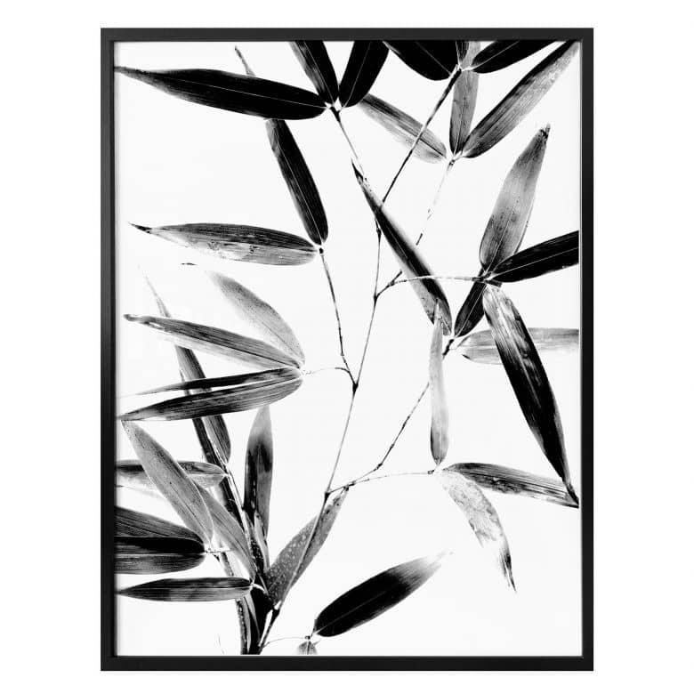 Poster Kubistika - Silhouette de la nature