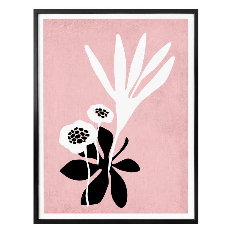 Poster Kubistika - Rosen