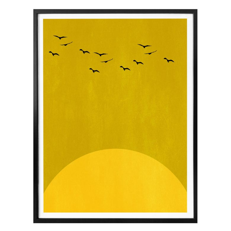 Poster Kubistika - Danse du soleil