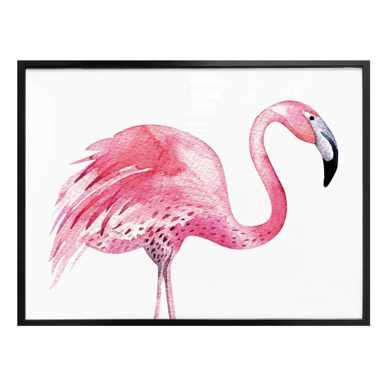 Poster Kvilis - Pink Flamingo 03