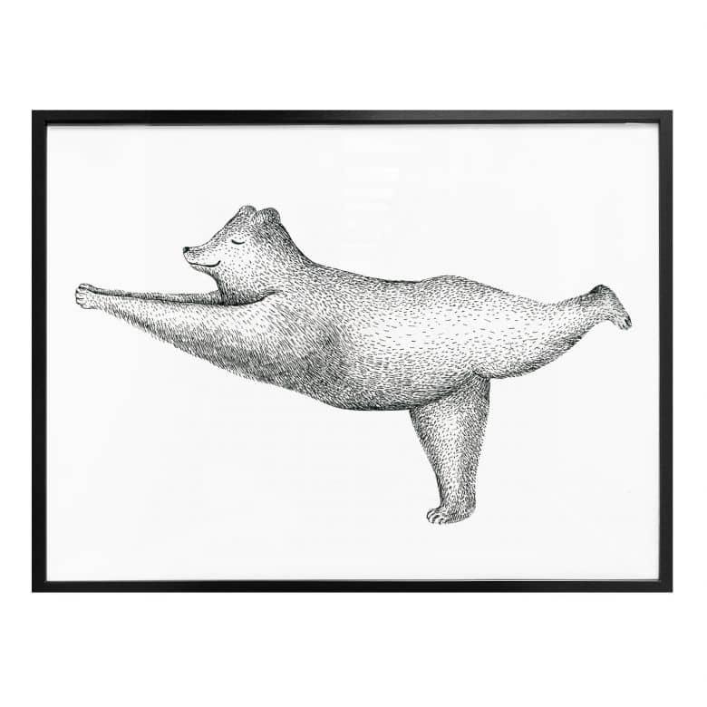 Poster Kvilis Yoga Bar 02 Wall Art De