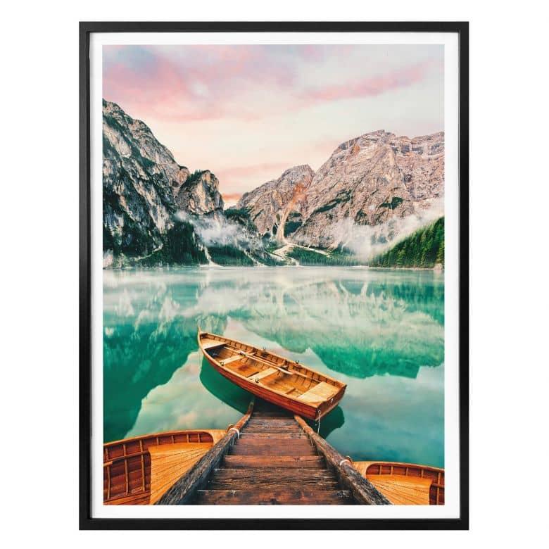 Affiche Lac de Braies