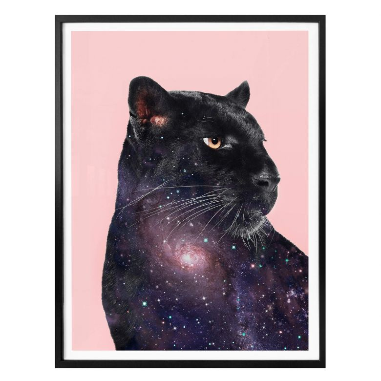 Poster Loose – Galaxy Panther