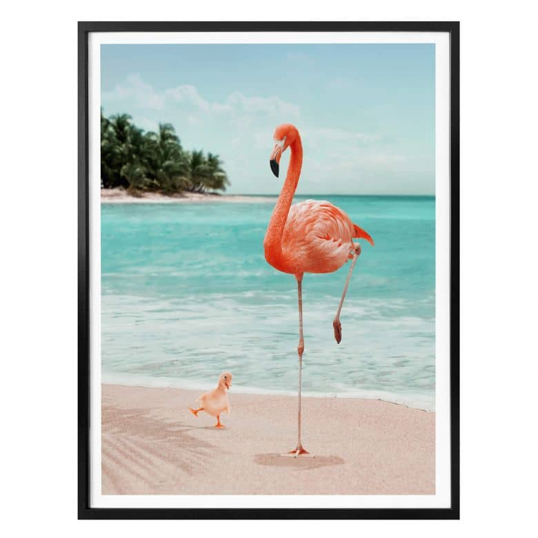 Poster Loose – Wannabe Flamingo