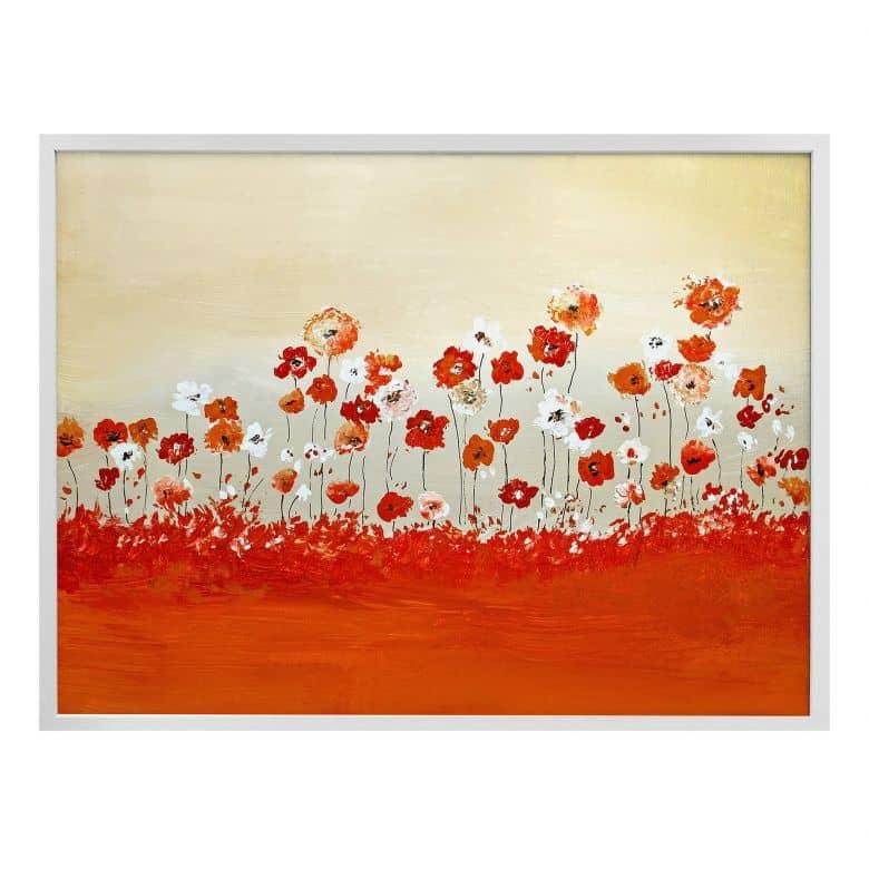 Poster Melz - Fröhliche Blumen