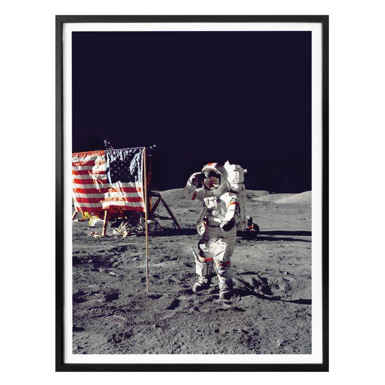 Poster Mondlandung