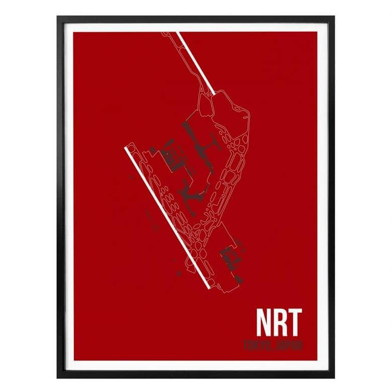 Poster 08Left - NRT Floorplan Tokyo