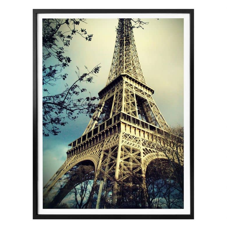 Poster Paris Eiffelturm